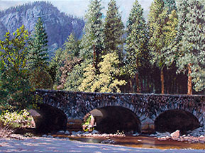 Ahwahnee Bridge Image