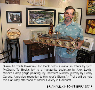 Photo of Jon Bock at Stellar Gallery