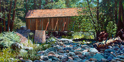 Wawona Covered Bridge Image